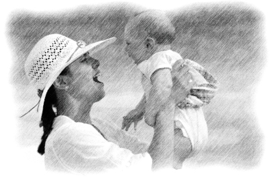 mother-84628_1920_Drawing